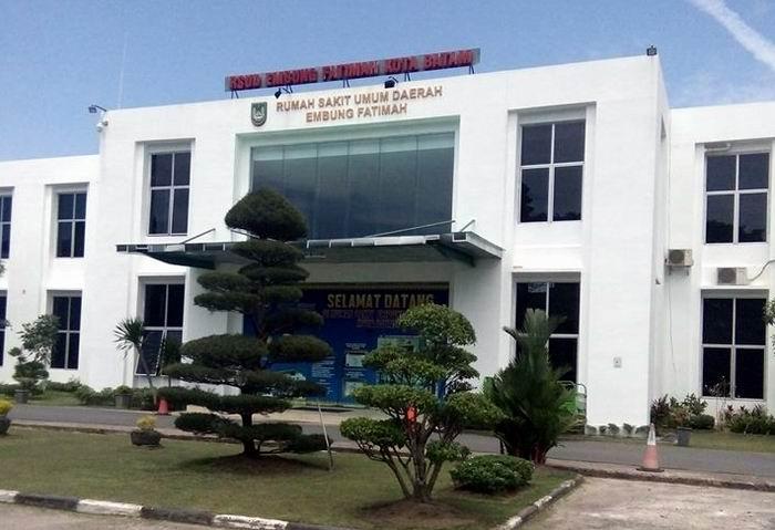 Rumah Sakit Umum Daerah Embung Fatimah Kota Batam